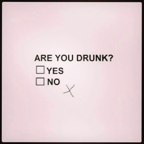 Written breathalyzer test